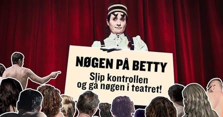 Nøgen på Betty
