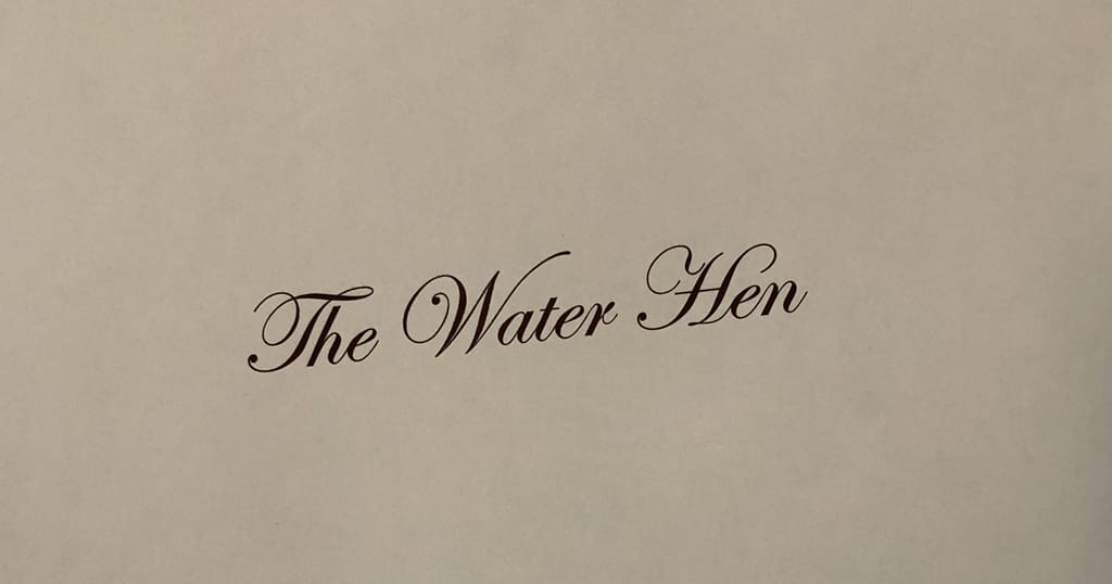 The Water Hen